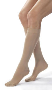 Jobst® Opaque CLOSED TOE Knee Highs