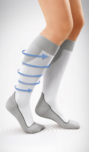 JOBST® Sport Sock Closed Toe