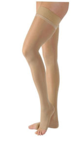 Jobst Ultrasheer OPEN TOE Thigh High Medicalwear (15 - 20 mmHg)