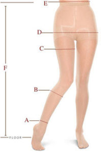JOBST® Legwear - How to Measure